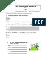 Guía Apoyo Clase de Lenguaje Elementos de La Comunicación2