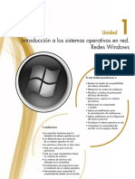 Capítulo 1 - Introducción a los sistemas operativos en red. Redes Windows
