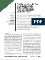 Impactos Potenciales de Edificios de Energí Generación de Energí