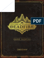 Deadfire Game Manual