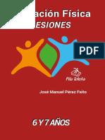 LIBRO  Educación Física -  Sesiones 6 y 7 años