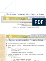 The Science Communication Project in Japan
