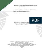 UPTC. Guia Para La Implementacion de Senderos Interpretativos en Areas Rurales, Caso, Sendero Interpretativo en La Vereda Cañonegro Del Municipio de Santa Maria Boyaca, 2015
