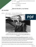 John Cheever sobre la ficción y su forma de escribir – ideofilia