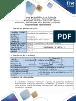 Guía de actividades y rubrica de evaluación - Tarea 2 - Desarrolar ejercicios Unidad 1 y 2 (3)