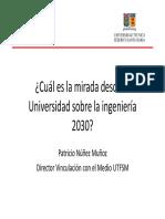 Utfsm Seminario Delloite 2030