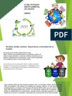 Produccion de Residuos y Gestores de Residuos