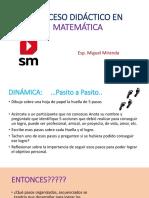 Proceso Didáctico en Matemática - Huancayo