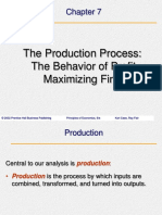 07-The Production Process:The Behavior of Profit- Maximizing Firms