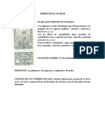Timbres Fiscal