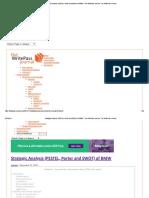 Strategic Analysis (PESTEL, Porter and SWOT) of BMW – the WritePass Journal _ the WritePass Journal