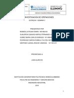 PRIMERA ENTREGA  INVESTIGACION DE OPERACIONES.docx