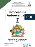 Autoevaluacion 2 Sistema Integrado de Gestion