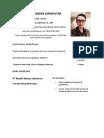 CV - Rully Gunawan Sangputra