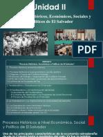 Procesos Políticos, Sociales y Económicos de El Salvador
