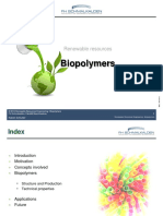 20130702 Lecture Biopolymers
