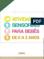 E-book atividades sensoriais Tempo Junto