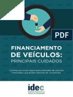 Cartilha Financiamento de Veiculos
