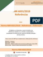 Novidades Da ABNT 6023 Referencias