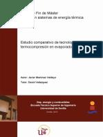 Estudio comparativo de tecnología de termocompresion