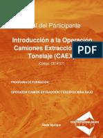 MANUAL DE OPERACIÓN CAEX