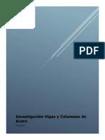 Investigación Vigas y Columnas de Acero