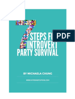 Introvert Party Survival Guide by Michaela Chung