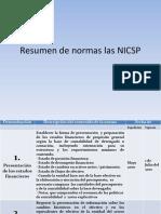 Resumen Normas NICSP