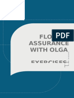 Flow Assurance With Olga - Exercises