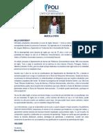 CARTA DE BIENVENIDA Marcela Otero INGLÉS GENERAL 1 - 2019-I.pdf