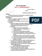 GUÍA DE BIOLOGÍA ADN biotecnología 4 medio A B liceo 2 nov 2014.docx
