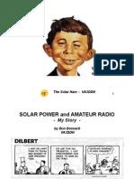 VA3DDN Solar Power