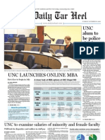 The Daily Tar Heel for November 16, 2010