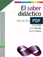 El Saber Didactico_Camilloni