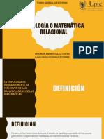 Topología o Matemática Relacional