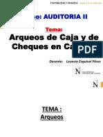 CLASE Arqueos de Caja y de Cheques en Cartera.pptx