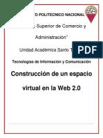 Sintesis Construcción de un espacio virtual en la Web 2.0.docx