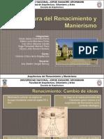 177480123 Arquitectura Del Renacimiento y Manierismo