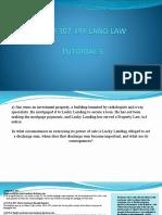 Tutorial 5 - Land Law