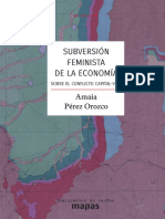 Subversion Feminista de la Economia  Amaia Perez