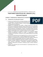 10 Ed Especial Trastorno Especifico Del Lenguaje