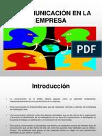 La Comunicacion en La Empresa ... Parte 1