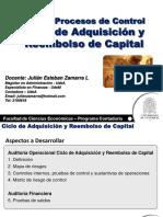 Auditoría Operacional Ciclo Capital y Pago