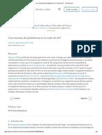 Una Encuesta de Las Plataformas en La Nube de IoT - ScienceDirect
