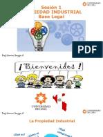 1. Propiedad Industrial - Base Legal PDF