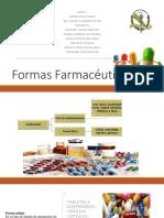 Formas farmacéuticas de Farmacología