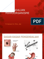 PENGENDALIAN MIKROORGANISME