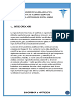 Bioquímica Informe 1