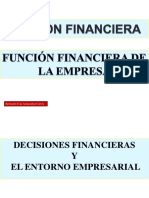 1 Decisiones Financieras y El Entorno Empresarial
