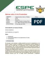 Informe Sobre las Exposiciones Apreciacion al Arte Y Cultura.docx
